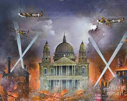 A-0107 Spirit of the Blitz Poster by Ken Wood